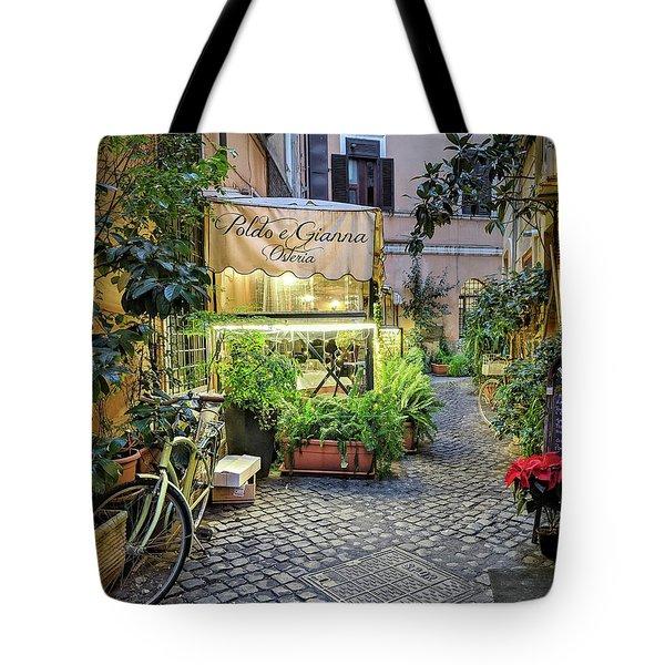 Osteria Roma - Jo Ann Tomaselli Tote Bag
