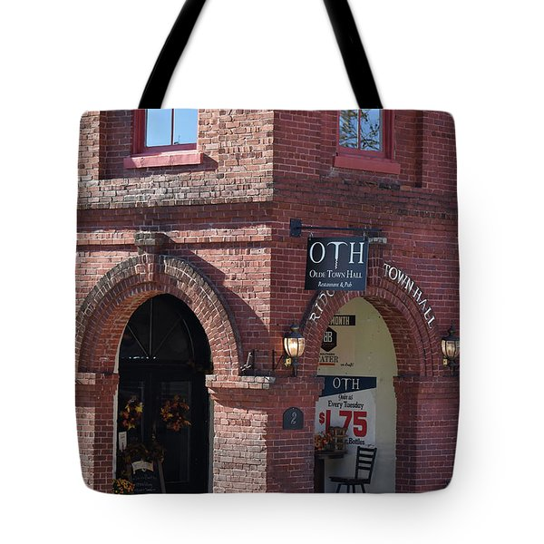 Oth Or Old Towne Hall Tote Bag