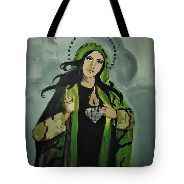 Our Lady Of Veteran Suicide Tote Bag