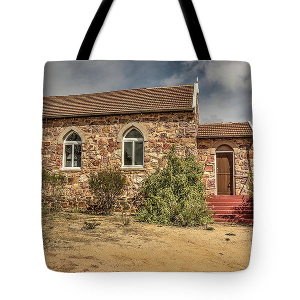 Tote Bag featuring the photograph Our Lady Queen Of Peace, Yuna, Western Australia by Elaine Teague