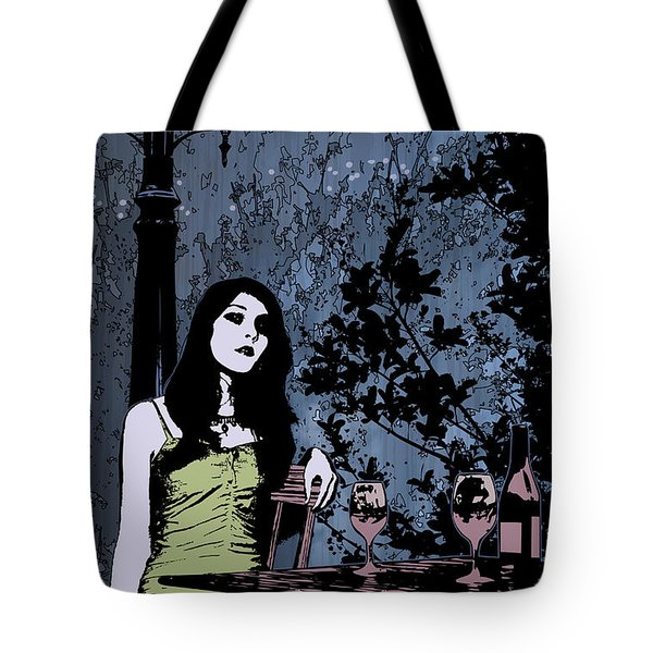 Out At Night Tote Bag