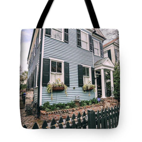 Out Of The Clear Blue Tote Bag