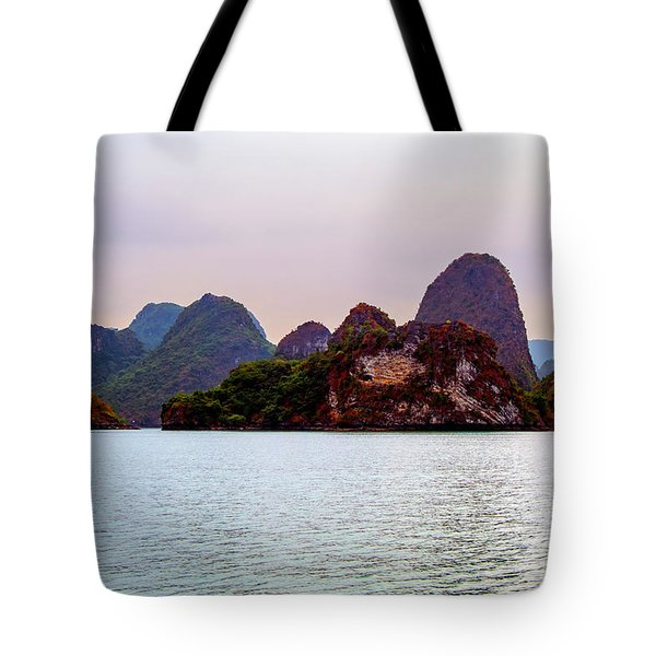Out To Sea - Halong Bay, Vietnam Tote Bag