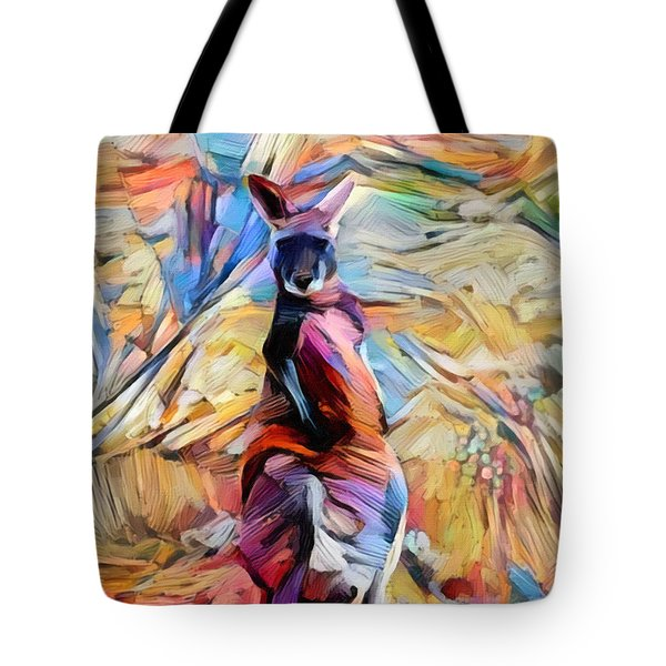 Outback Roo Tote Bag