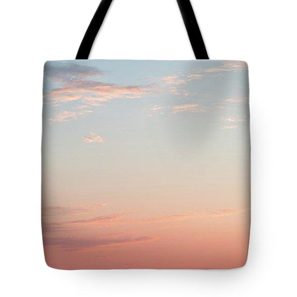 Outer Banks Sailboat Sunset Tote Bag