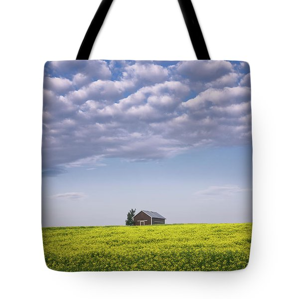 Outstanding In Its Field Tote Bag