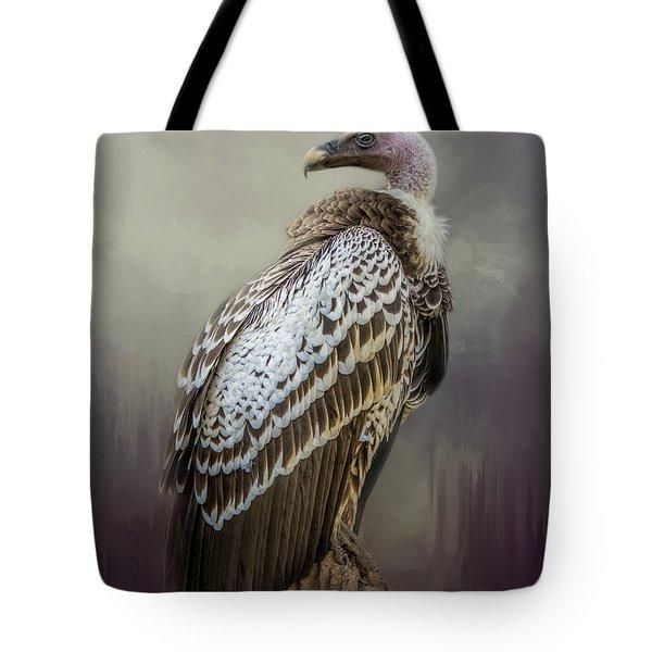 Over Her Shoulder Tote Bag