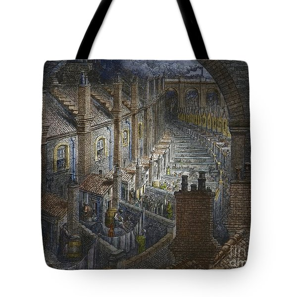 Over London By Rail From London, A Pilgrimage Tote Bag
