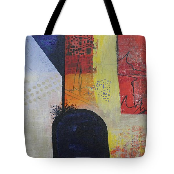 Tote Bag featuring the painting Overflowing by April Burton