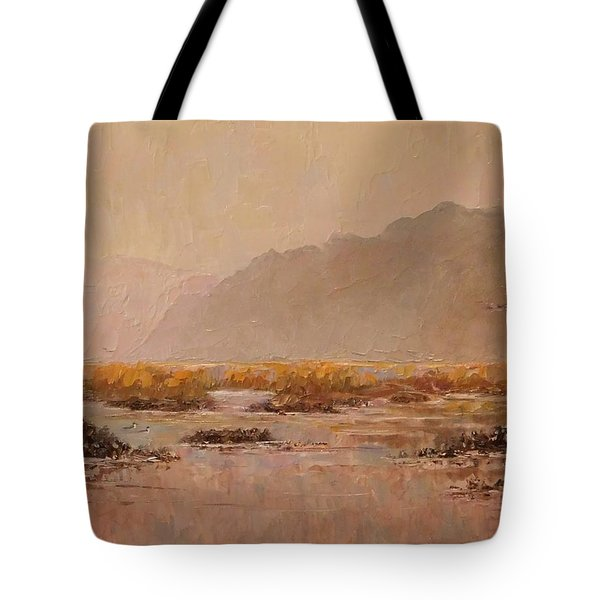 Oyster Beds Emerging Tote Bag