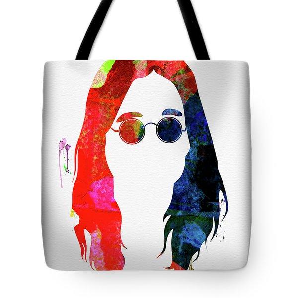 Ozzy Watercolor Tote Bag