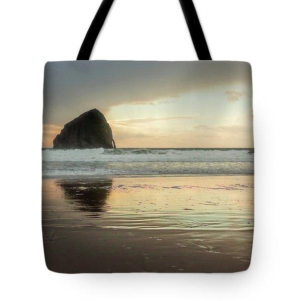 Pacific City Sea Stack Tote Bag