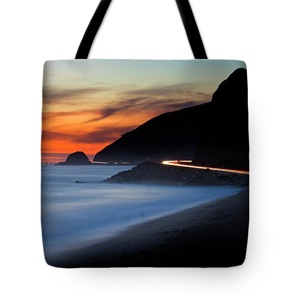 Pacific Coast Highway Tote Bag