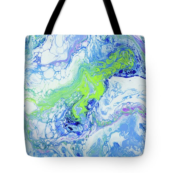 Pacific Storm Coming Tote Bag