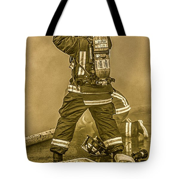 Packing Up Tote Bag