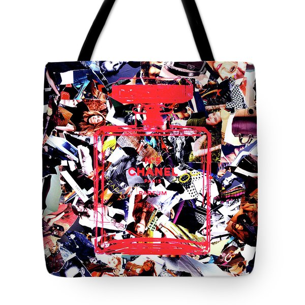 Pages Of Vogue  Tote Bag