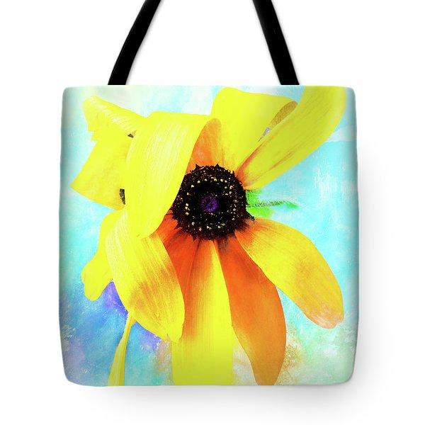 Flopsy - A Charming Wild Black-eyed Susan  Tote Bag