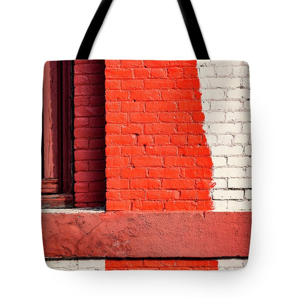 Painting The Town Red Number 1 Tote Bag