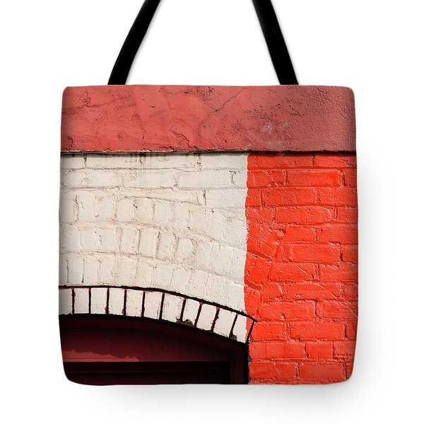 Painting The Town Red Number 2 Tote Bag