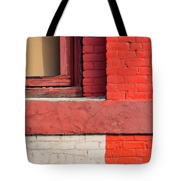 Painting The Town Red Number 3 Tote Bag