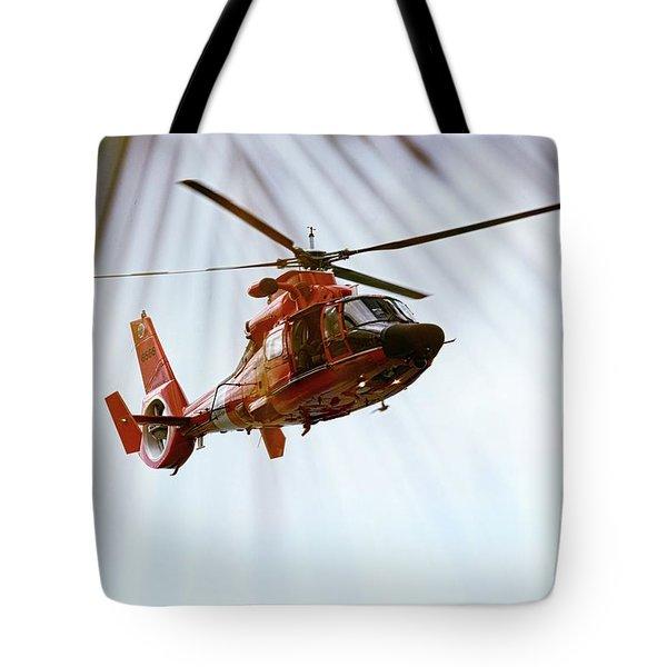 Palm Chopper Tote Bag