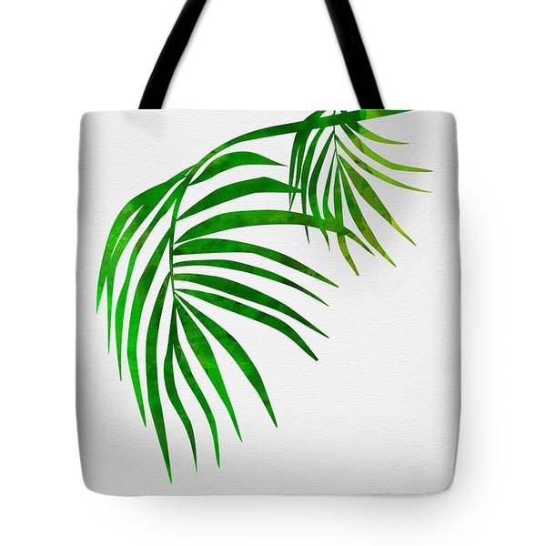 Palm Tree Leafs Tote Bag