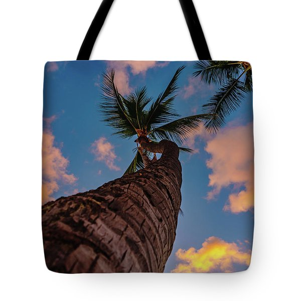 Palm Upward Tote Bag