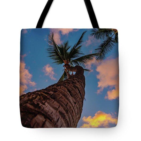 Palm Upward Tote Bag