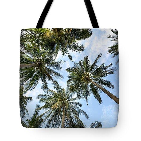 Palms  Beach Tote Bag