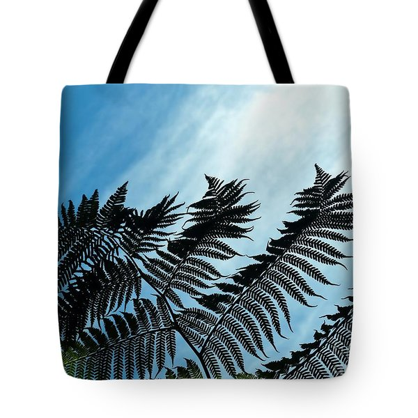 Palms Flying High Tote Bag
