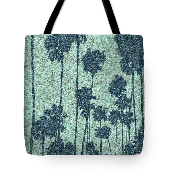 Palms Over Palisades No. 2 Tote Bag