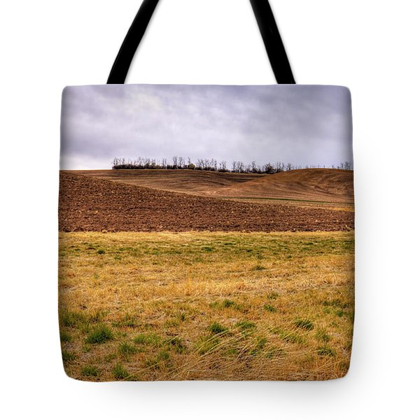 Tote Bag featuring the photograph Palouse Farmland by David Patterson