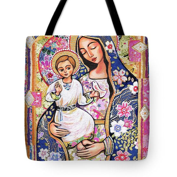 Panagia Eleousa Tote Bag