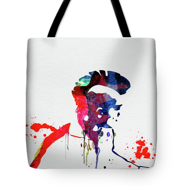 Pank Watercolor Tote Bag