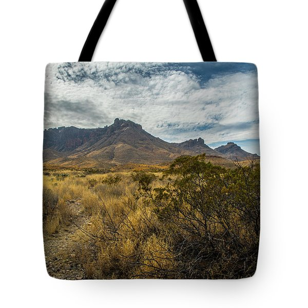 Tote Bag featuring the photograph Panther Junction by Matthew Irvin