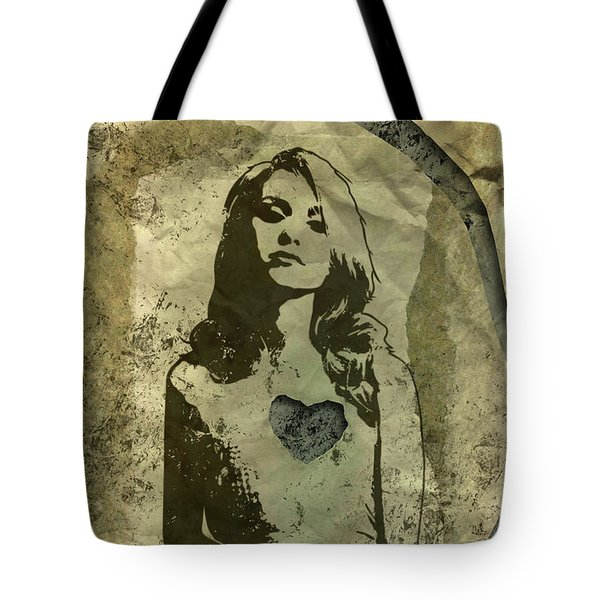 Paper Doll Tote Bag