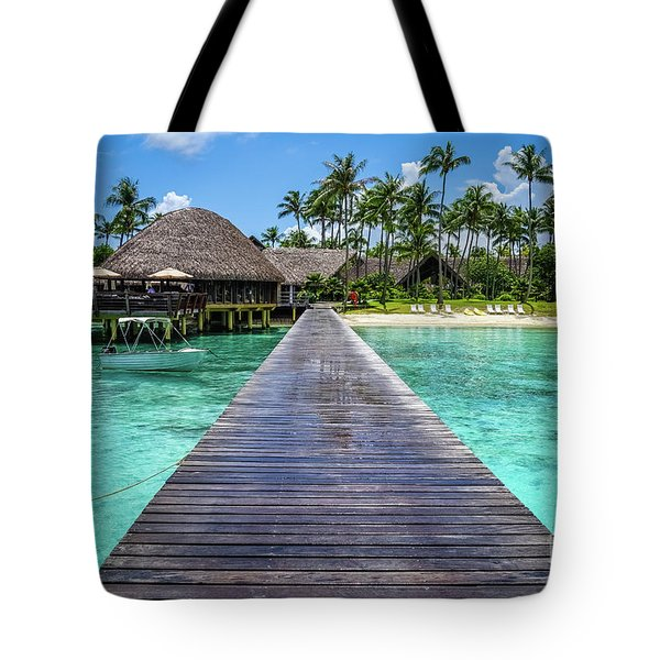 Rangiroa, Tuamotu - Paradise On Earth Tote Bag
