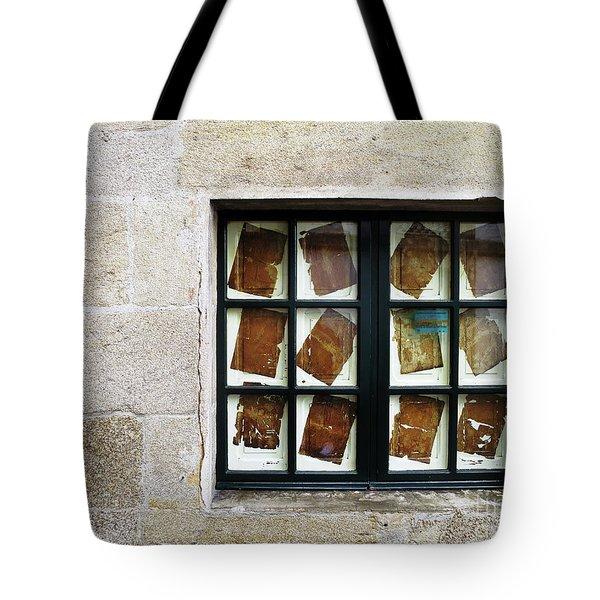 Parchment Panes Tote Bag