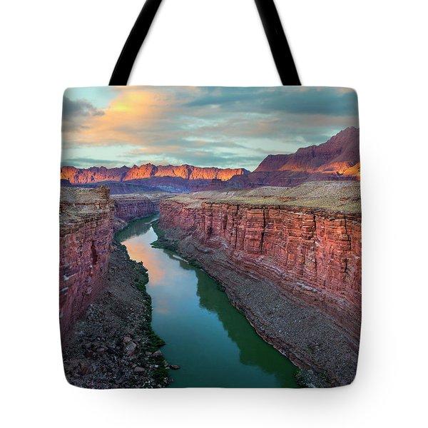 Paria River Canyon, Vermilion Cliffs Tote Bag