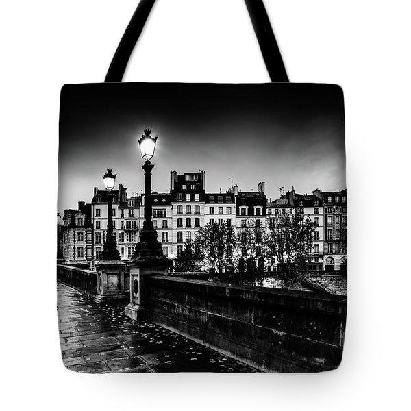 Paris At Night - Pont Neuf Tote Bag