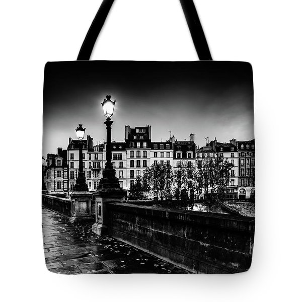 Paris At Night - Pont Neuf Tote Bag