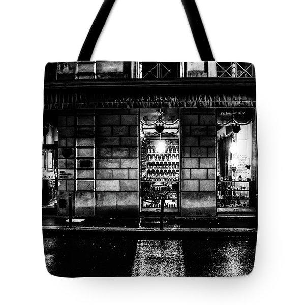 Paris At Night - Rue Bonaparte 2 Tote Bag