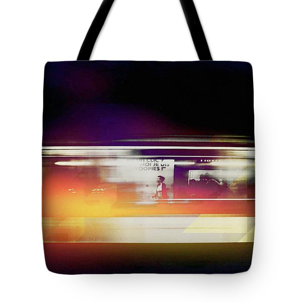Tote Bag featuring the photograph Paris Metro by Susan Maxwell Schmidt