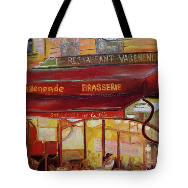 Paris Night Tote Bag