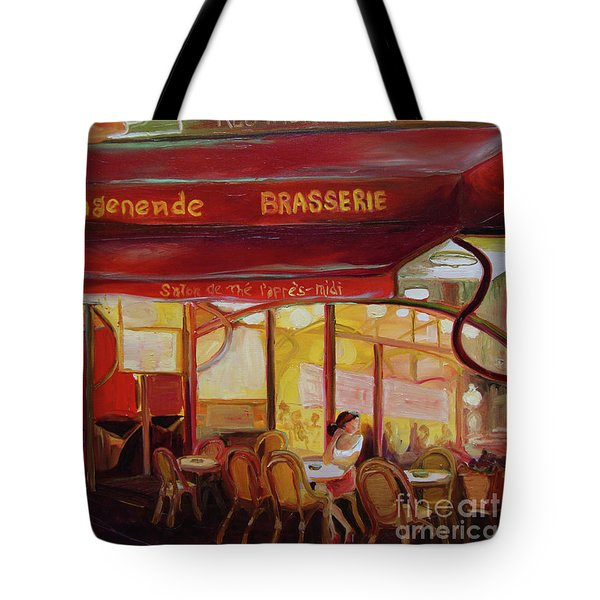 Paris Night Tote Bag