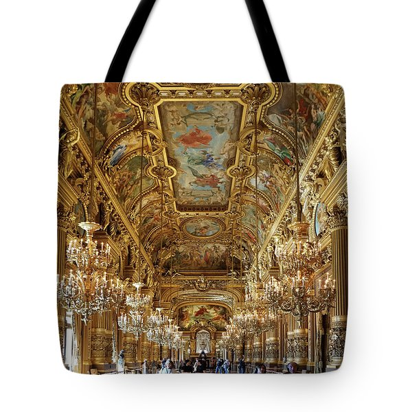 Tote Bag featuring the photograph Paris Opera by Jim Mathis