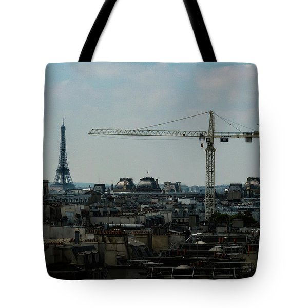 Paris Towers Tote Bag