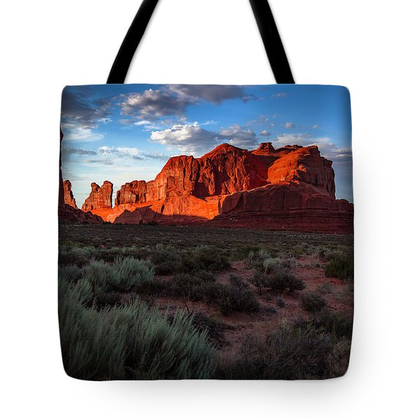 Park Avenue Sunset Tote Bag