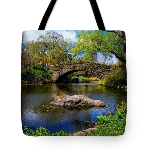 Park Bridge2 Tote Bag