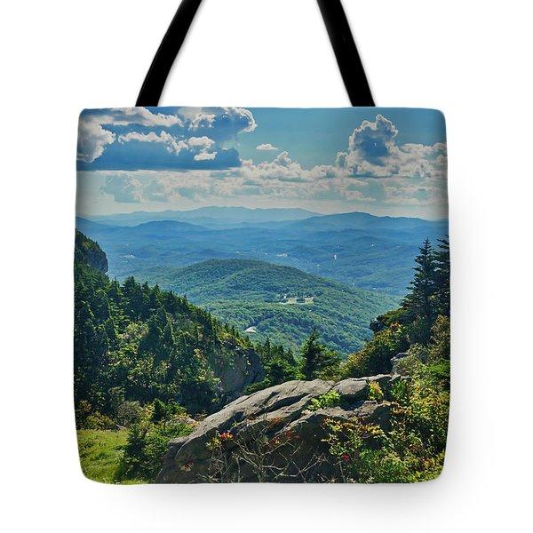 Parkway Overlook Tote Bag